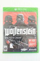 Wolfenstein: The New Order (Microsoft Xbox One, 2014) NEW SEALED