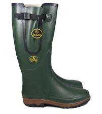 Mens Wetlands Rubber Waterproof Walking Wellies Festival Wellington Boots Size 8