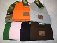 John Deere Beanie, John Deere Toboggan Hat, Watch Hat, 13090002. NWT 8 colors