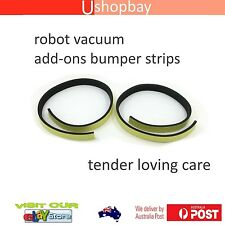 Robot Vacuum Cleaner Guard Pad Black Front Bumper for iRobot Roomba 530/630/730