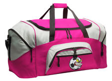 Soccer Duffle Ladies Travel Bag - Sport Duffel WELL MADE - LOADED W/ POCKETS