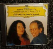 GIDON KREMER - MARTHA  ARGERICH ** BEETHOVEN ** CD NEUF