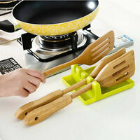 Kitchen Gadget Utensil Holder Spatula Placemat Spoon Rest Pad Heat Resistant