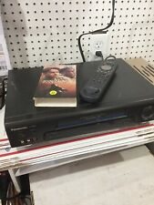 Panasonic PV-7665S VCR VHS Recorder Player 4 Head Tested w/ Remote & A/V Cable