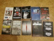 Bücher Konvolut Thriller