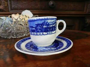 "B&O Railroad dining car Lamberton Scammells Small Coffee 2"" Cup and 4.75""Saucer"