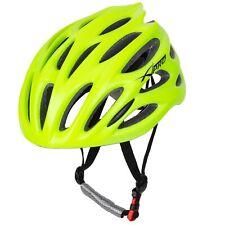 Casco Bici Ciclismo Regolabile Bike MTB Corsa Strada Mountain Bicicletta Fluo