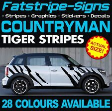 MINI COUNTRYMAN TIGER STRIPES GRAPHICS DECALS STICKERS COOPER S ONE JCW R60 D