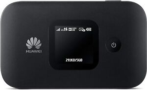 HUAWEI E5577 ROUTER WIFI MOVIL BATERIA MOVISTAR CAT 4 150 MBPS NEGRO LTE 4G 3G