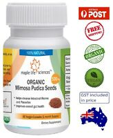 ORGANIC Mimosa Pudica Seeds Capsules - Removes Parasites and Worms - AU Stock