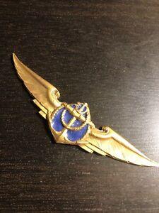 Urguay Naval aviator  air force pilot wings badge