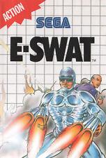 # Sega Master System-e-SWAT-Top/MS juego #