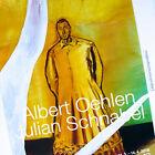 ALBERT OEHLEN JULIAN SCHNABEL ORIGINAL 2018 EXHIBITION POSTER