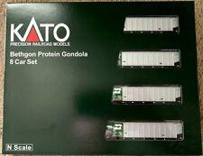 Kato Bethgon Protein Gondola 8 Car set BN #2 # 106-4651