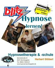 Hypnose - Blitzhypnose zu Hause lernen - Schulungs-DVD