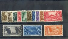 ITALY Sc 290-302(MI 415-27)*F-VF LH OR OG 1932 SHORT SET  (10c GUM BEND) $115