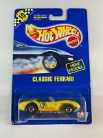 Hot Wheels Vintage Blue Card - New Model Classic Ferrari 250 #117 - BOXED POST