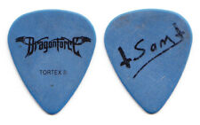 DragonForce Sam Totman Signature Blue Guitar Pick - 2008 Tour