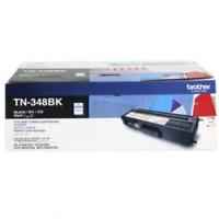 Brother Genuine TN348BK High Yield BLACK Toner HL-4150CDN, HL-4570CDW 6000 Pages