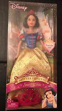 2005 Disney Snow White Glitter Princess Doll with Tiara for You NIB