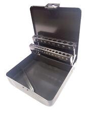 Spiralbohrerkassette 25 tlg LEER schwarz 1,0 - 13,0 mm Leerkassette Metallbohrer