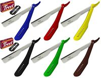 New Barber Straight Cut Throat Shaving Razor Rasiermesser + 10 Blades