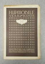 1915 Hupmobile Year Book
