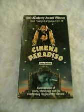 NEW Cinema Paradiso VHS Movie Yellow Subtitled Best Foreign Language Film