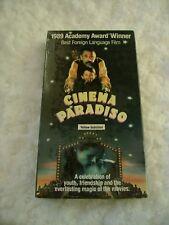 New Cinema Paradiso Vhs Movie Yellow Subtitled Best Foreign Language Film