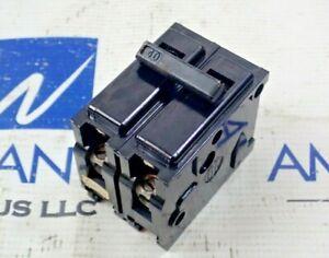 ITE QP2B040 2 Pole 40 Amp 120/240VAC Plug in QP Circuit Breaker