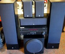YAMAHA HOME THEATRE SYSTEM 5.1  RECEIVER HTR-2067 SUB WOOFER SW-216 & 5 SPEAKERS