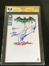 Signed BATMAN #50 CGC 9.8 by 6X Creators Adams Capullo Fabok Finch King Kubert