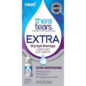 Thera Tears Extra TM Dry Eye Therapy Lubricant Eye Drops - 15ml