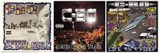 Lot of 3 used C-BO CDs: Desert Eagle,Enemy of the State,Life as a Rider ~rap[PA]