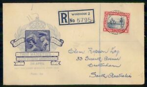 Mayfairstamps SOUTH AFRICA FDC 1948 COVER SILVER WEDDING wwi94009