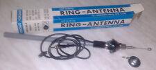 Vintage car radio antenna chrome