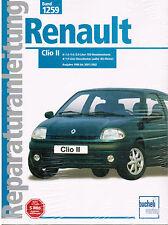 Buch Reparaturanleitung Renault Clio II Baujahre 1988 bis 2001/2002 Band 1259
