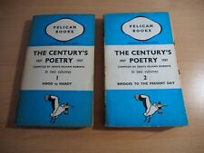 The Century's Poetry 1837-1937, In Two Volumes  Compiled by Denys Kilham Roberts