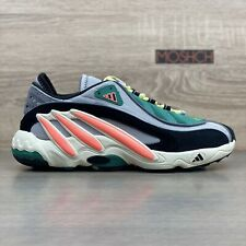 Adidas FYW 98 UK 9.5 Grey Coral Green Black (Wave Runner)