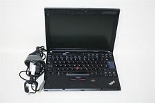 "LENOVO ThinkPad X200 12"" Core 2 Duo 2.40GHz 4 Gb Ram Sin Disco Duro no os Laptop PC"