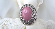 Carolyn Pollack Raspberry Jasper, 925 Sterling Silver Size  7  WHAT a  Ring!