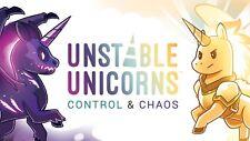 Presale: Unstable Unicorns Control and Chaos kickstarter exclusive