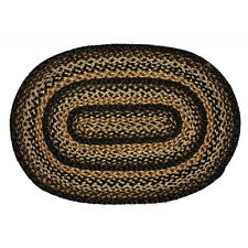 BLACK FOREST OVAL BRAIDED RUG 20 x 30 IHF