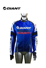 Vintage Giant Competition Cycling Mountain Bike Zip Fromy Jersey XL