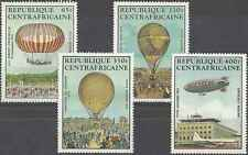 Timbres Ballons Centrafrique PA272/5 ** lot 1654