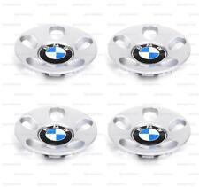 New OEM BMW 5 E34 7 E32 8 E31 Set Of Wheel Center Hub Throwing Star Caps 2227123