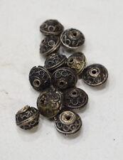 Beads Nepal Silver Round Beads 9mm - 12mm