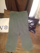 mens tommy hilfiger dress pants size 38/30 sage green