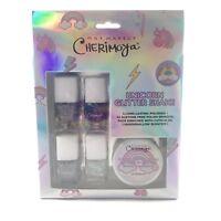 Cherimoya -Unicorn Glitter Shake- Scented Nail Polish Set! Gift/Stocking Stuffer