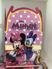 Minnie Mouse Treat Favor Bags Boxes *Set Of 10* Loot Goody Bags Party Favor Box